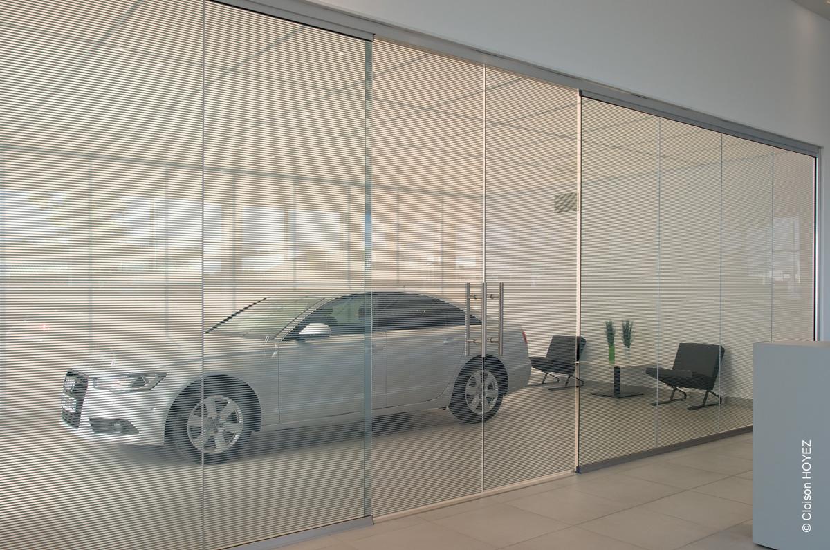 Cloison verre bord bord ossature affin e ht agipro - Porte interieure toute hauteur ...